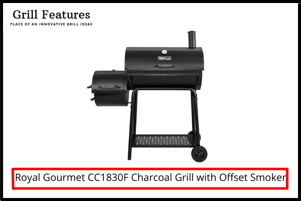 Royal Gourmet CC1830F Review Grill with Offset Smoker
