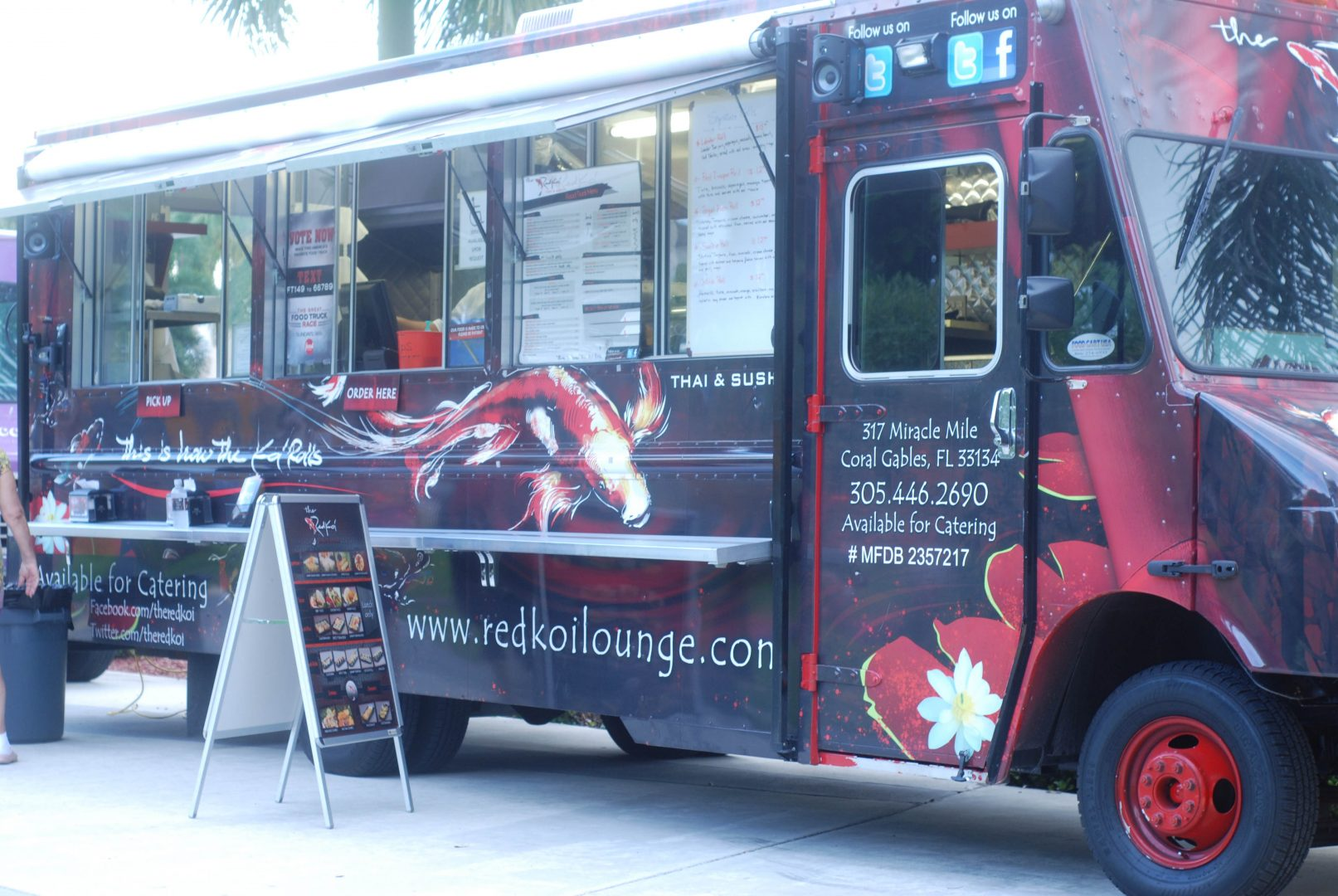 Red Koi Lounge Food Truck Grillgirl Healthy Grilling
