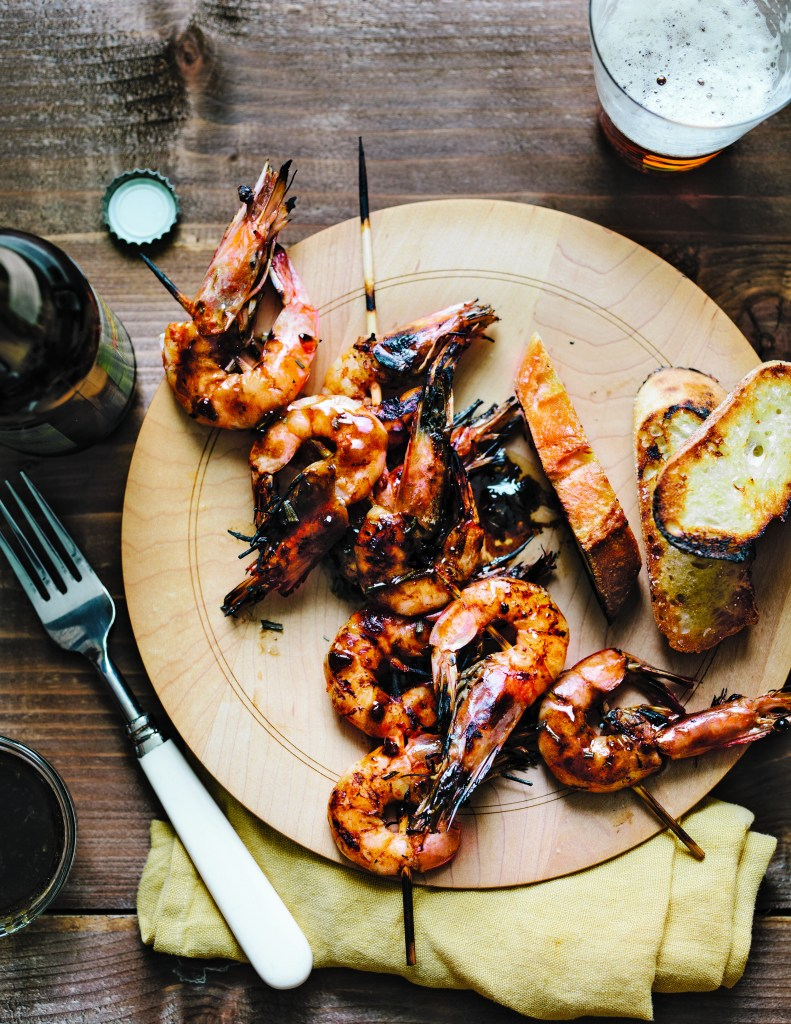 Damn, these grilled NOLA Shrimp look to die for.
