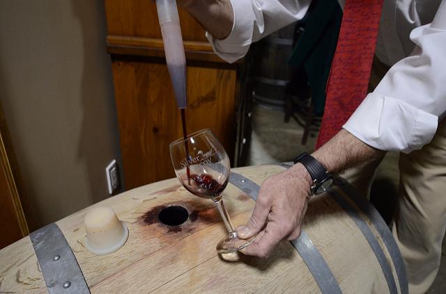 wine thief_sonoma barrel tasting