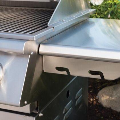 BullBBQ SteerCart parim roostevaba gaasigrill küljelaud grilliguru