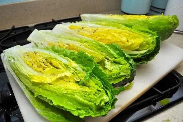 Grilled Lettuce - 062