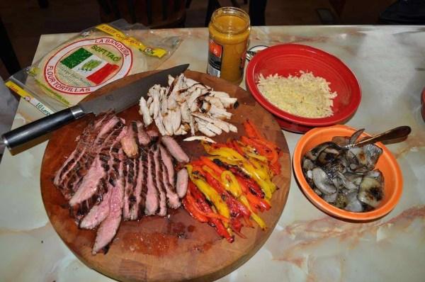 Grilled Steak Fajitas-13