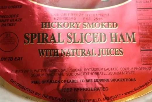 Grill Glazed Spiral Ham - 05