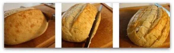 Bacon Cheddar Bread Collage1