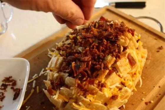 Grilled Bacon Cheddar Bread - 043