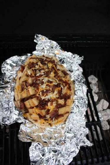 Grilled Bacon Cheddar Bread - 093