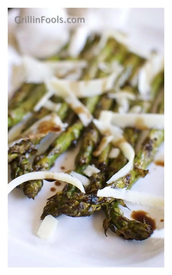 Balsamic Grilled Asparagus 9