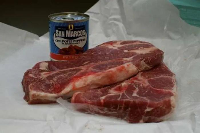 Chipotle Pork Steak Tacos - 005