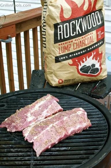 Juniper Smoked Garlic Pepper Ribs | GrillinFools
