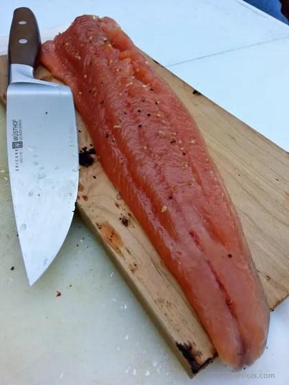 Cherry Plank Salmon 8