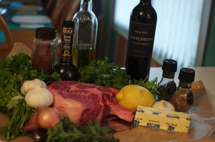 Chili Chimichurri Steak - 1