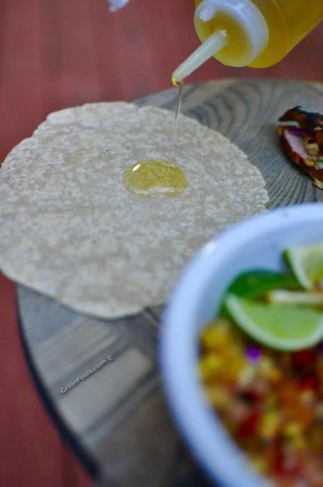 Chipotle Pork Tacos with Lime Sour Cream - 17
