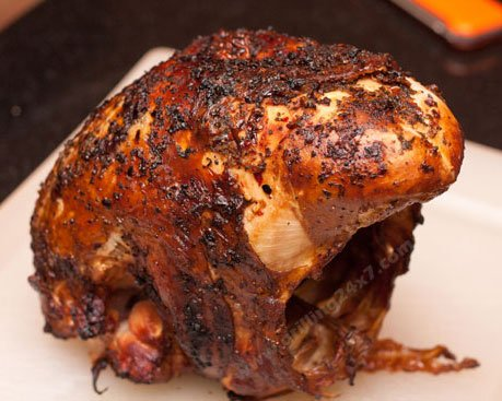 Grilled Butter Injected Turkey Breast