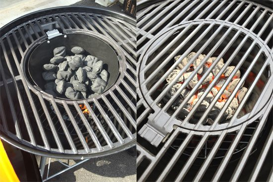 Charcoal basket - Stok Drum Charcoal Grill Review