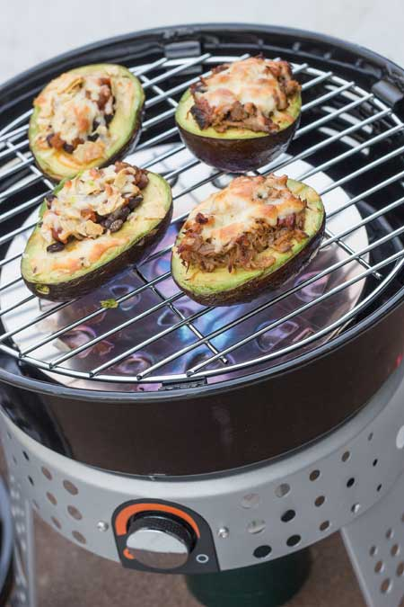 Stuffed Avocado Recipe on the Stok Tourist