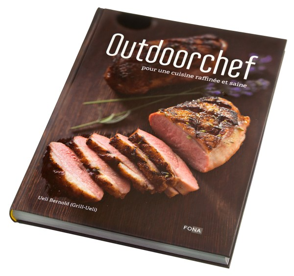 OUTDOORCHEF 요리책