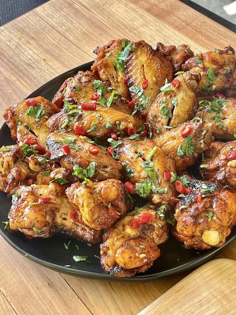 thai chili wings