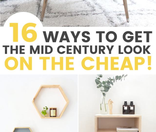 Diy Midcentury Furniture Ideas That Easy To Diy And Are Affordable Grillo Designs