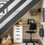 Diy Under Stairs Homework Station With Ikea Grillo Designs