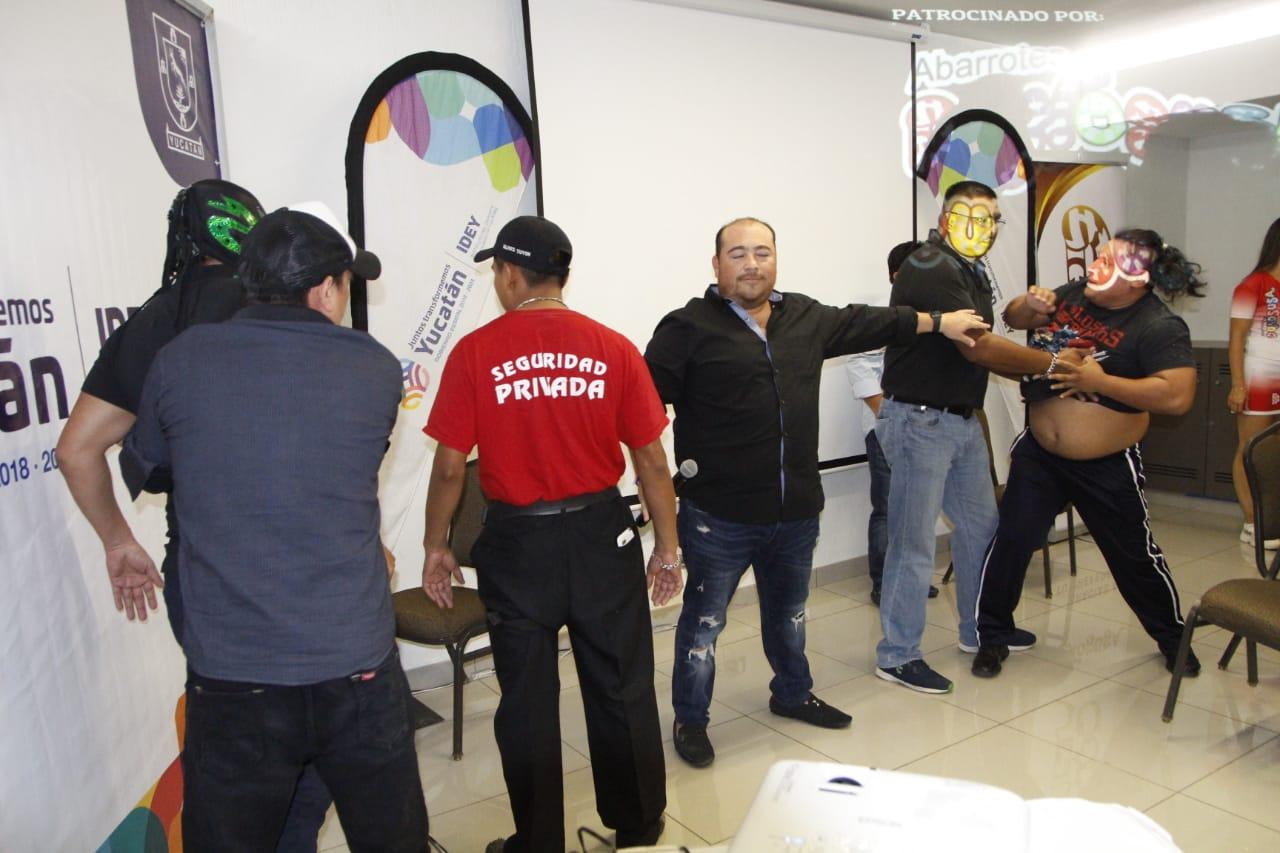 "Protagonistas de la ""Lucha Libre a la Mexicana"