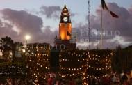 La comuna viste de Navidad a Mérida