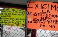"""Exigen el cese del director de la secundaria """"Víctor Manuel Martínez"""", de Cansahcab"""