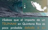 Sin riesgos de tsunami en Quintana Roo