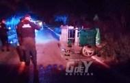 Padre e hijo chocan contra un mototaxi y quedan graves, en Dzilam González