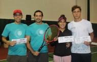 José Antonio Lores se corona en la máxima categoría de la XXI Copa Libanés de tenis, al que asistieron 170 jugadores