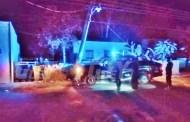 Un policía aprendía a manejar con una nueva patrulla y choca, en Tekal de Venegas