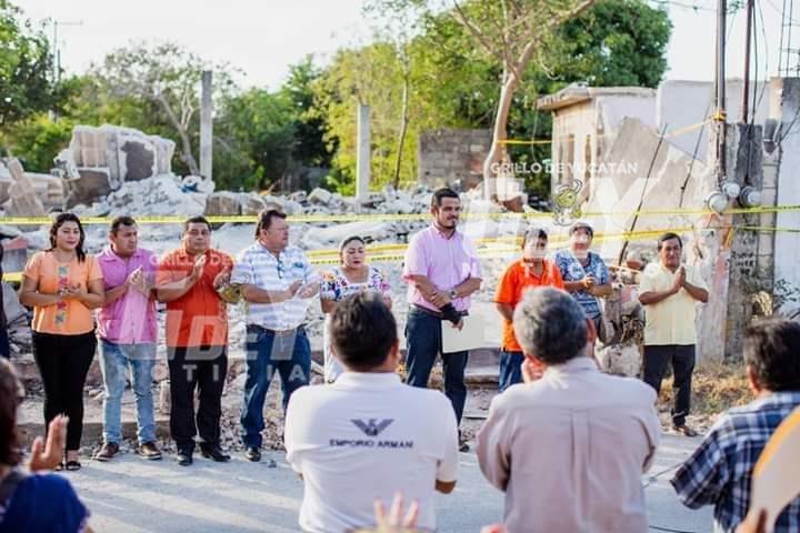 """""""Farolea"""" el alcalde de Kanasín, porque quiere reelegirse"""