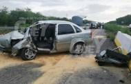 Se duerme al volante y choca contra el muro de la vía Motul-Mérida