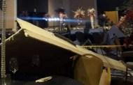 En plena graduación se les cae encima el techo del salón: hay cinco heridos (VÍDEO)
