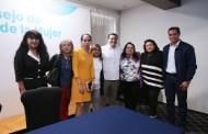 Renán Barrera inaugura el Consejo de Colaboración Municipal de la Mujer 2018-2021