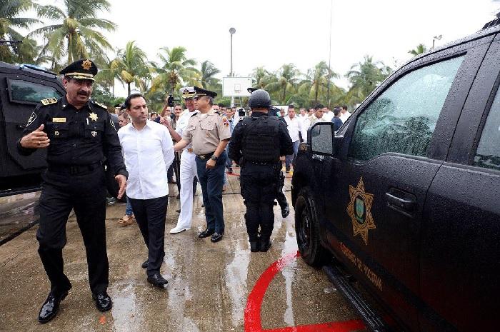 Seguridad, eje prioritario para Yucatán: Mauricio Vila