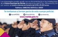 Inicia la convocatoria para reclutar a nuevos policías, en Mérida