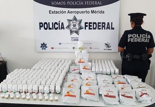Decomisan 88 cajas llenas de cigarros apócrifos, en la carretera Mérida-Felipe Carrillo Puerto