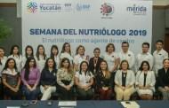 Del 27 al 31 de enero, se llevará a cabo la Semana del Nutriólogo 2019