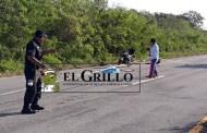 Un tráiler lo choca y lo despedaza, en la vía Mérida-Cancún, tramo Tahmek-Seyé