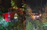 Trágica madrugada en la autopista a Cancún: Mueren dos personas en un choque