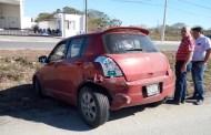 Tres accidentes de tránsito dejan nueve autos dañados y un caos vial, en el Periférico Norte