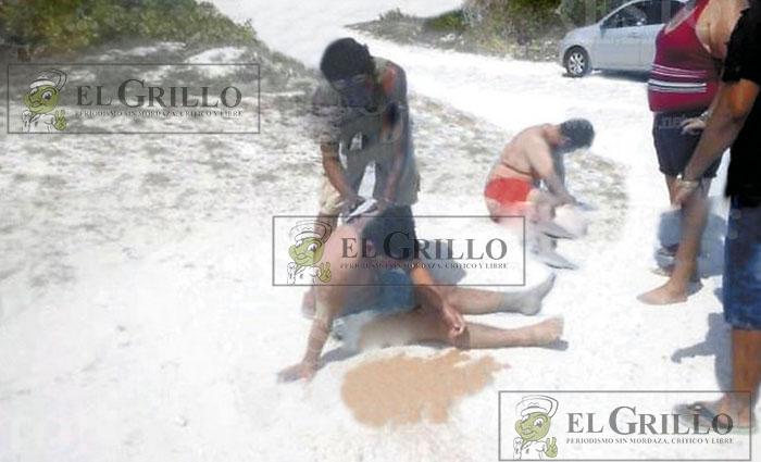 Jovencitos se salvan de morir ahogados en el Puerto de Abrigo de Chuburná