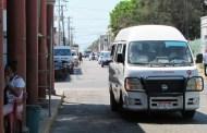 Reubican los paraderos del transporte urbano de Progreso, para agilizar el tráfico