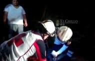 Ebrio se sale de la autopista Mérida-Cancún y lo hospitalizan
