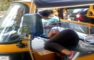 Una mototaxista se desmaya en pleno servicio debido a un golpe de calor, en Motul