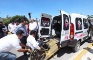 Mauricio Vila inicia el programa de transporte gratuito para personas con discapacidad motriz