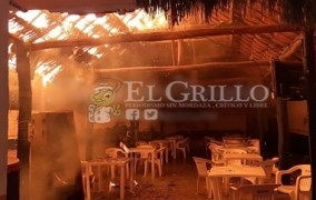 Se quema el bar