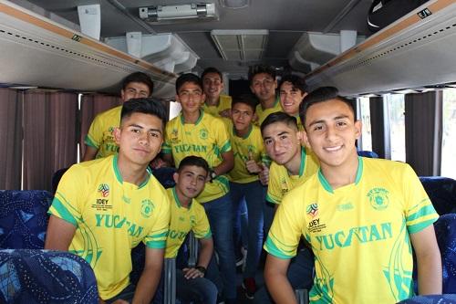"""La Selección """"Benito Juárez"""" viajó a campeonato nacional a Toluca, Estado de México"""