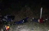 Una pareja de motociclistas se estrella y muere cerca de Colonia Yucatán
